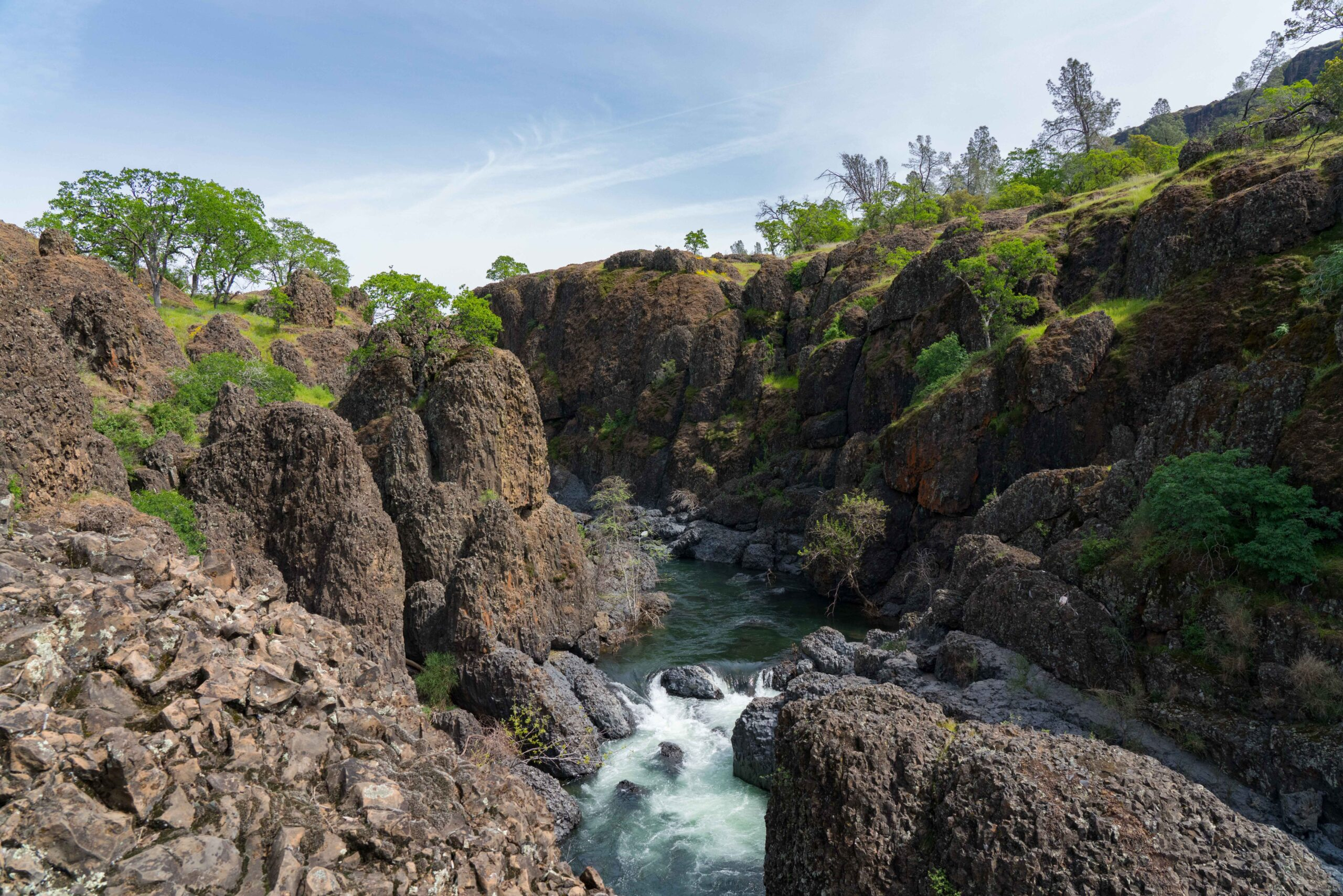 Landscape Photography in Upper Bidwell Park - Website Design & Photography Based in Chico, CA