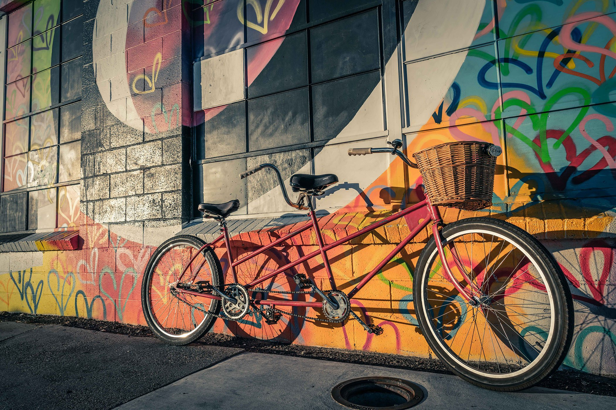 Tandem Bike - Website Design & Photography Based in Chico, CA