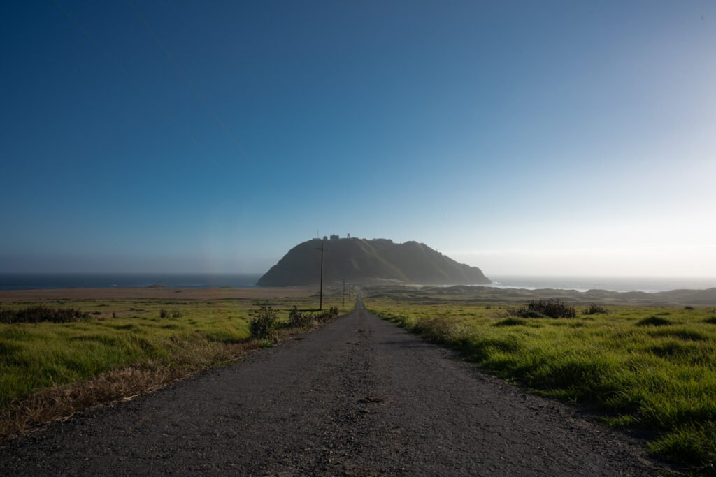 The Road to Point Sur Lighthouse - Website Design & Photography Based in Chico, CA