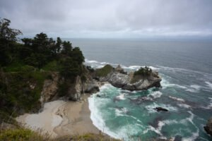 McWay Falls in Big Sur - Website Design & Photography Based in Chico, CA